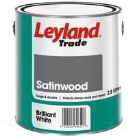 2.5 Litre Satinwood Brilliant White